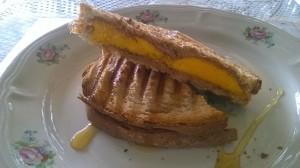 Almond Butter and Mango Sandwich10