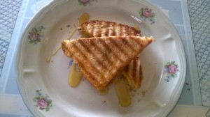 Almond Butter and Mango Sandwich8