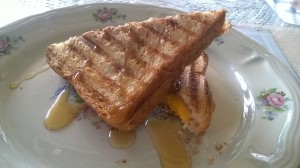 Almond Butter and Mango Sandwich9
